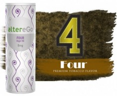 FOUR - altereGo e-Liquid High VG