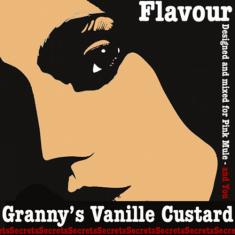 Pink Mule Secrets Άρωμα/Flavour - Granny's Vanille Custard