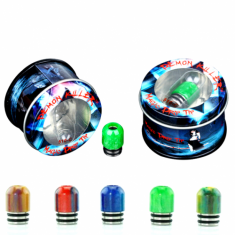 Demon Killer - Drip Tip 510-C (Resine)