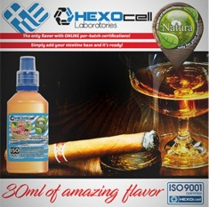 Natura - Cigar Passion (Mix Shake Vape 30/60ML)