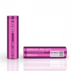 Efest Pink IMR 18650 3000mah 35A - High Drain Battery