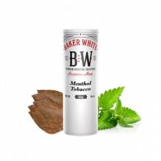 Menthol Tobacco liquid - White by Baker White
