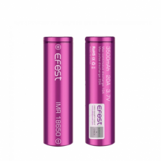 Efest Pink IMR 18650 3500mah 20A - High Drain Battery