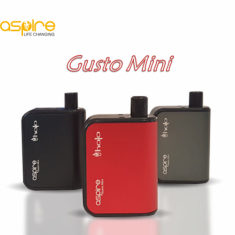 Aspire Gusto Mini Starter Kit + Κάψουλα Halo 4.2ml