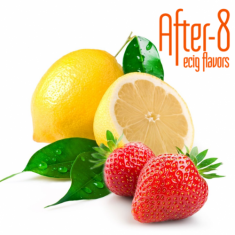 After-8 Lemon Strawberry 10ml (Υγρό αναπλήρωσης)