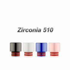 Zirconia Drip Tip 510 Short