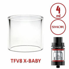 SMOK TFV8 X-Baby - Pyrex Glass 4ml