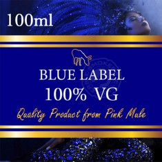 Pink Mule - Blue Label 0mg (100% VG) 100ml