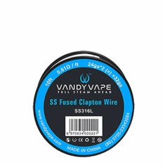 Vandy Vape Fused Clapton Wire SS316L